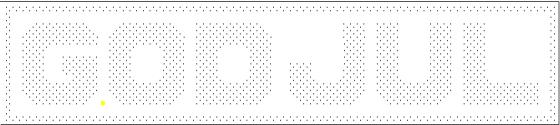 Mønster Excel stort god jul.png