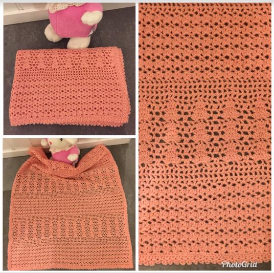 Skjermbilde rosa teppe til Elise