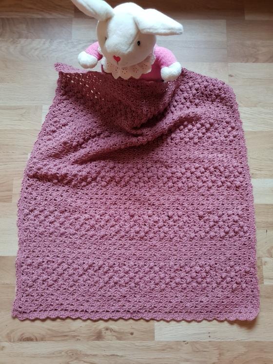 Rosa babyteppe