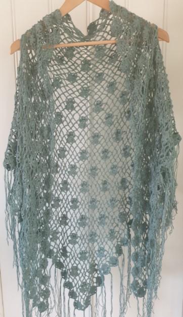 BIlde grønt sjal