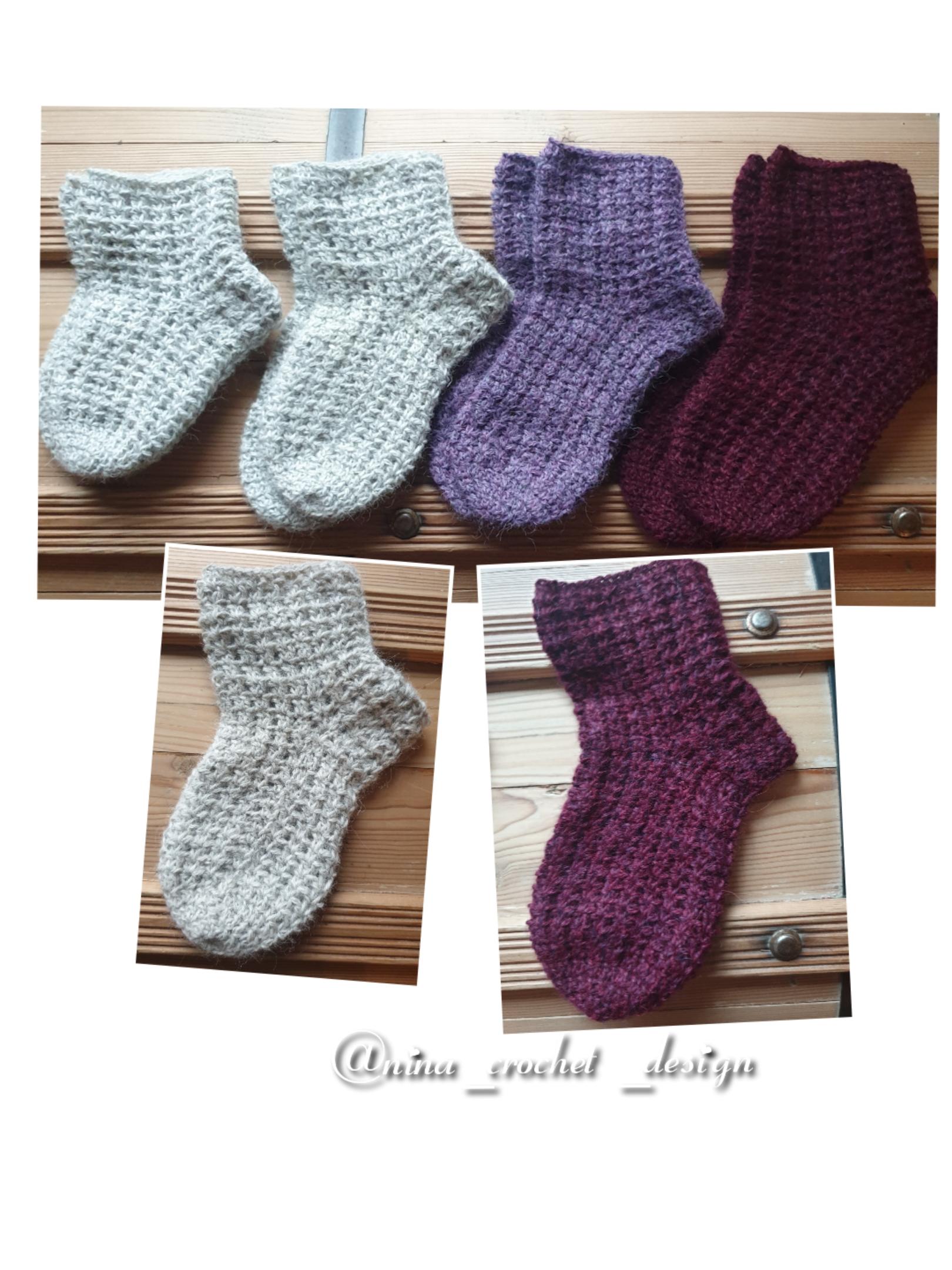 Kollasj sokker barn